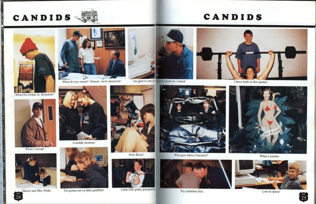 AHS Class of 1996 Candids 2 Open Book