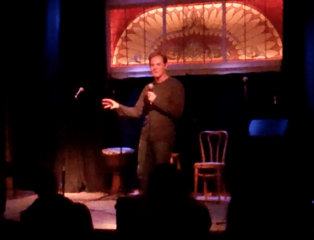 Jesse stoddard stand-up comedy open mic