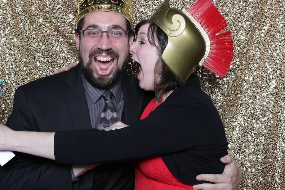 Eric and Erin having blast