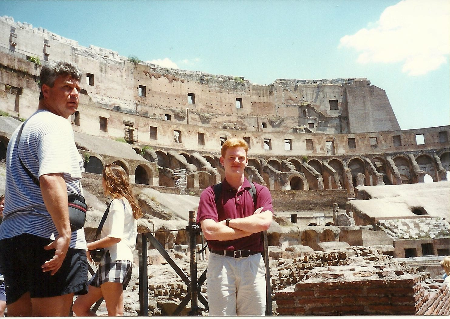 Jesse in the colosseum 1996