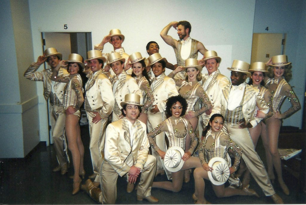 A Chorus Line Cast 5th Avenue Theatre
