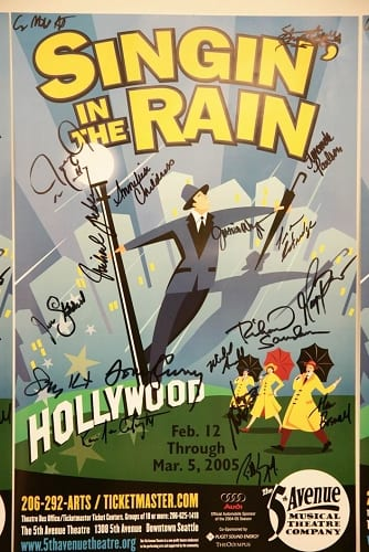 Singin' in the rain 5th avenue theatre
