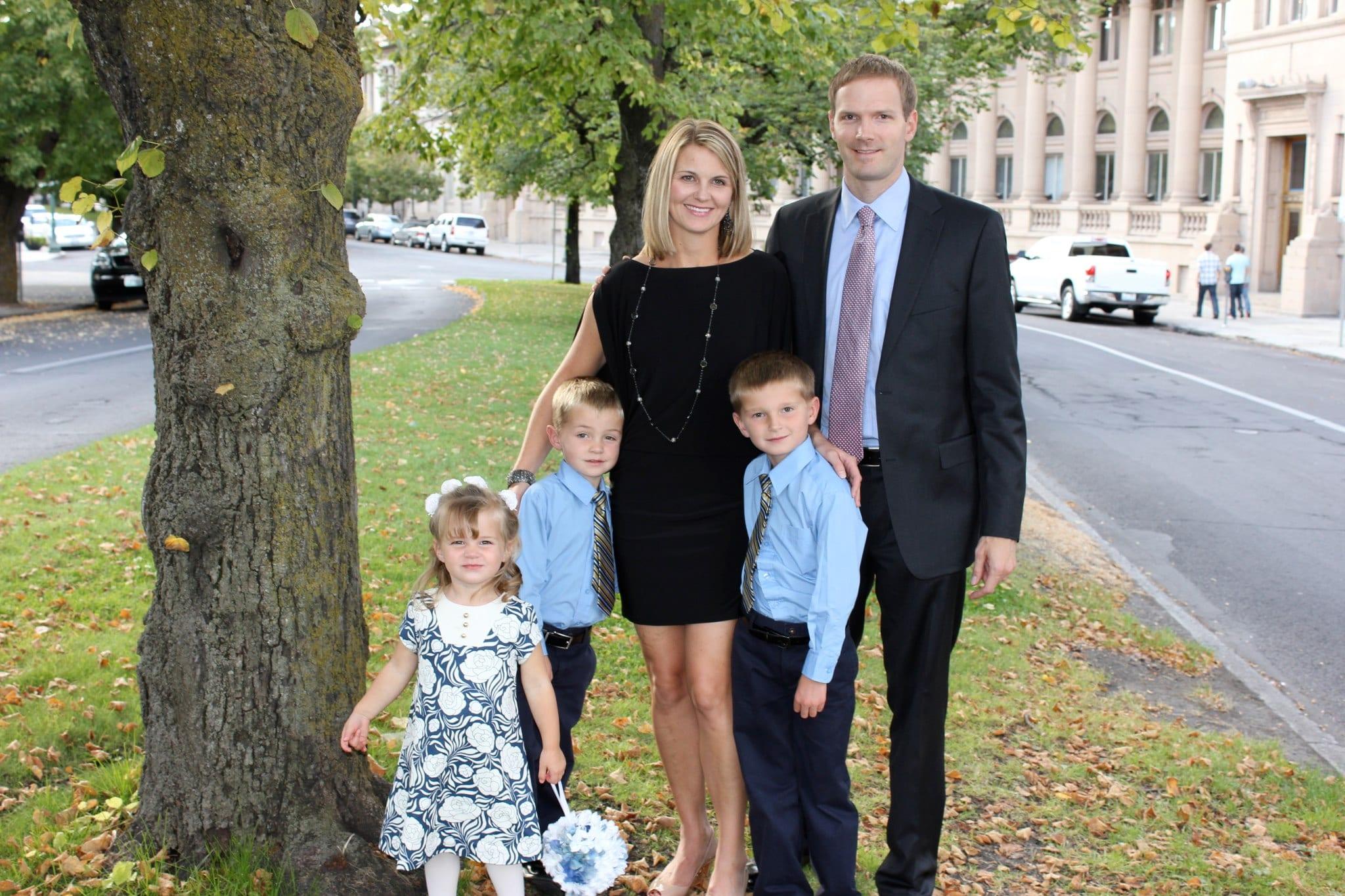 Jon and Bridget Lemberg family
