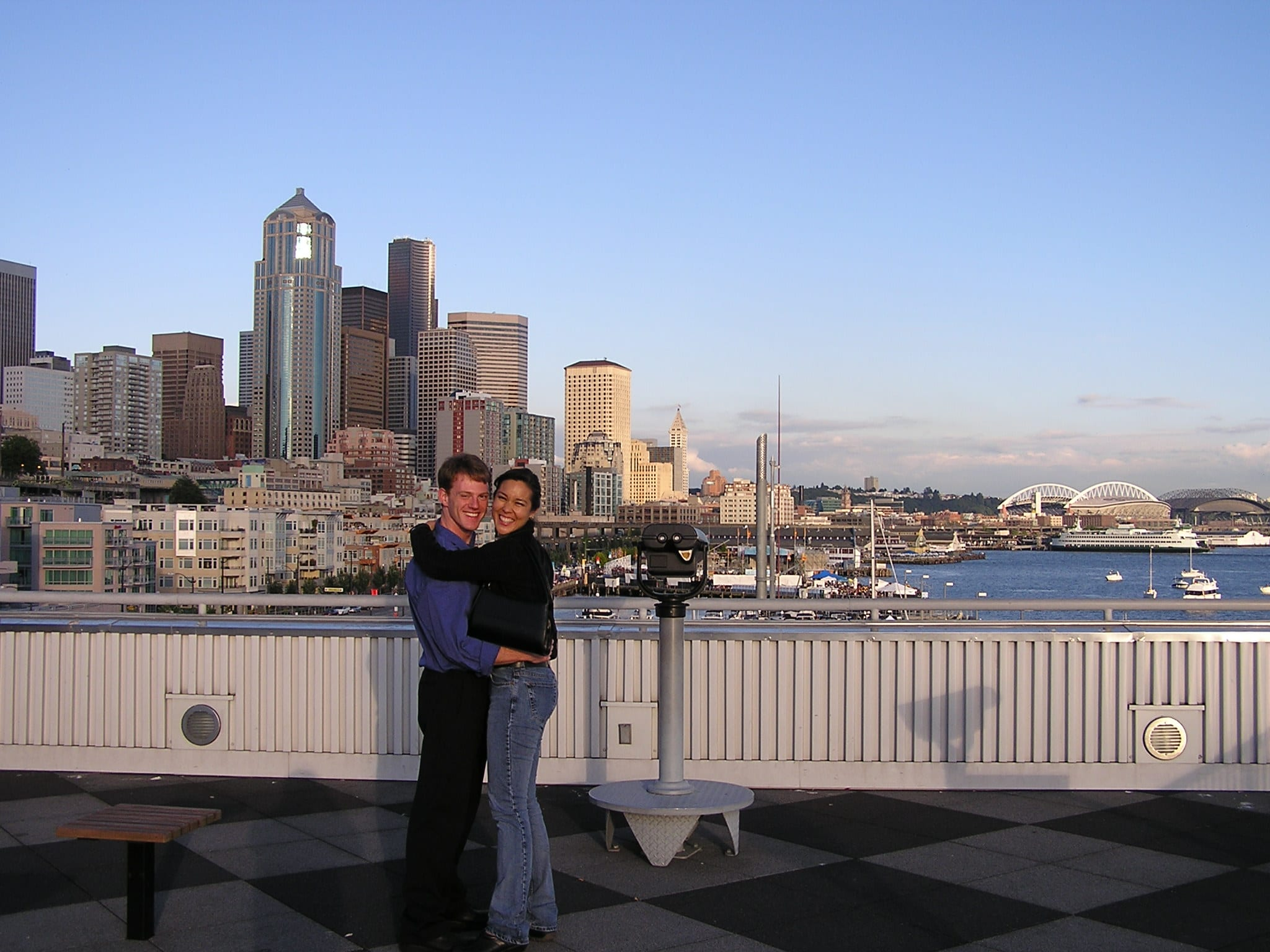 Mae and Jesse in Seattle