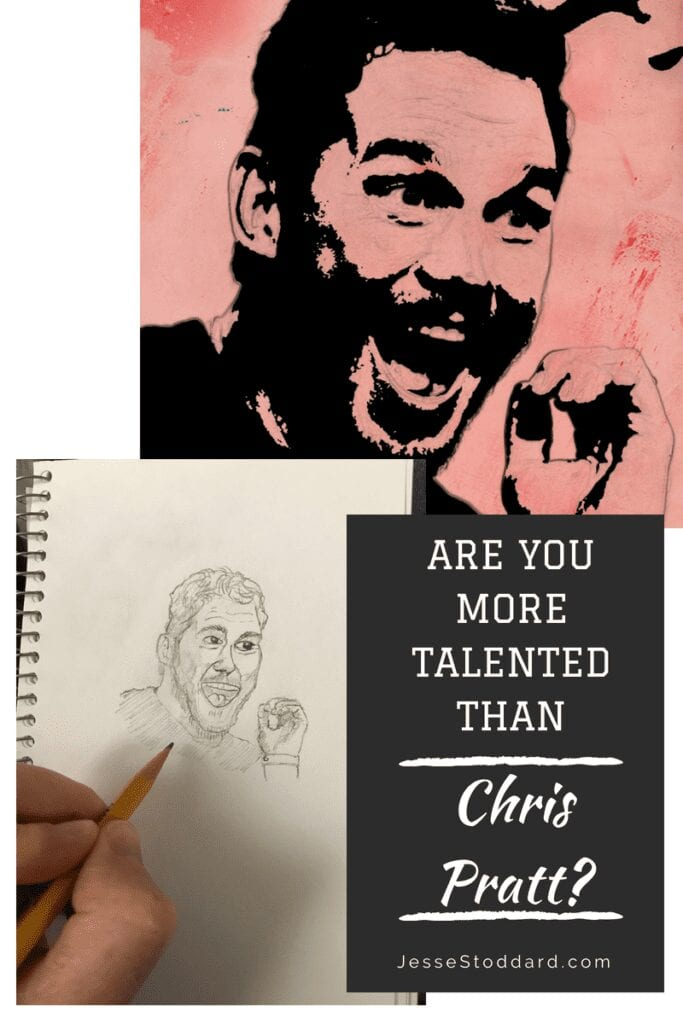 Are You More Talented Than Chris Pratt Drawing